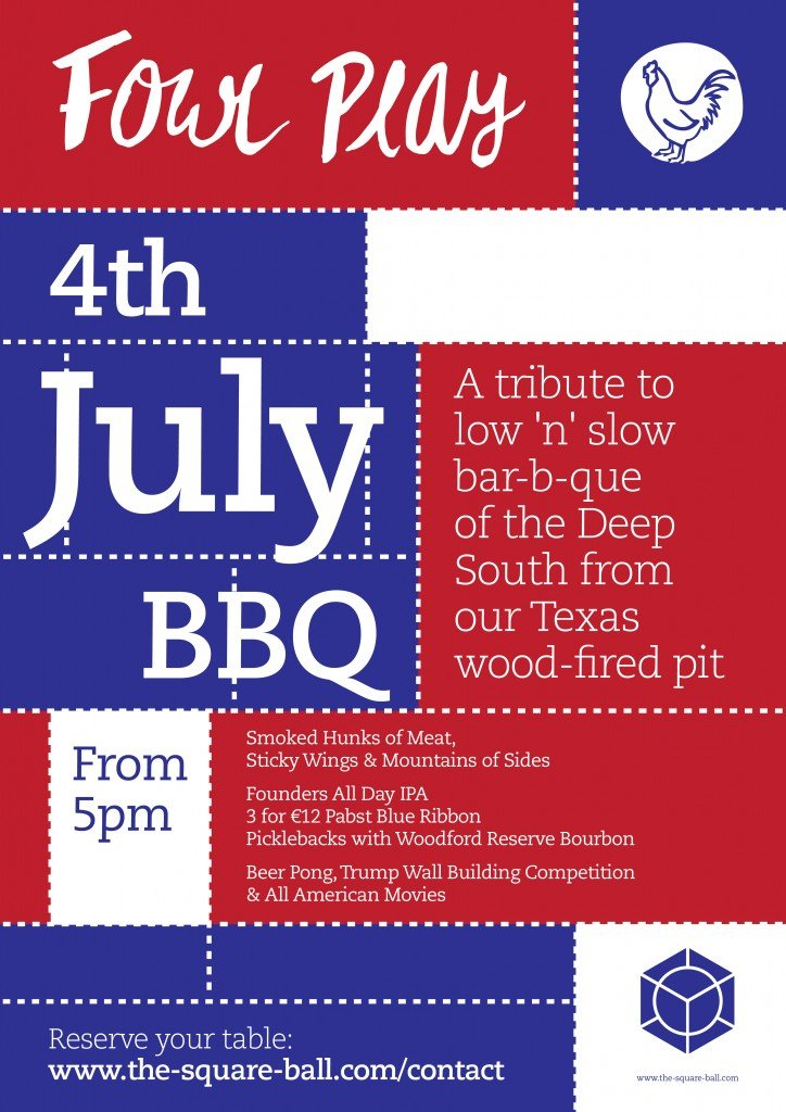 4th of July Poster A3-01